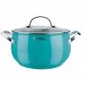 Кастрюля Rondell Turquoise 22 см (5.8л) RDS-719