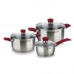 Набор посуды 6 предметов Rondell Strike RDS-817