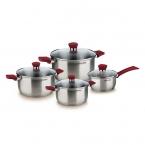 Набор посуды 8 предметов Rondell Strike RDS-818